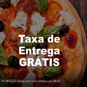 COMPRE UMA PIZZA GRANDE E UM REFRI DE 2 LITROS E PAGUE SÓ R$ 48,00