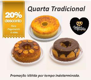 BOLOS TRADICIONAIS 20% OFF